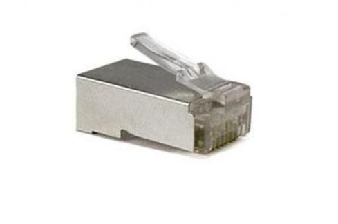 OEM konektor RJ-45 8/8 UTP plug konektor / drát - červené Hardware