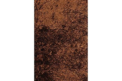 Předložka do koupelny Shine shaggy brown, 50 x 80 cm, 50 x 80 cm Předložka do koupelny Shine Shaggy