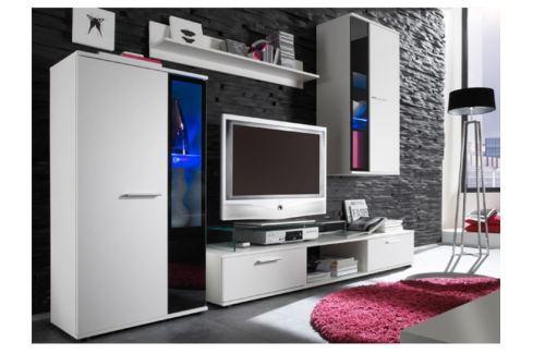 Tempo Kondela Obývací stěna, bílá, SALESA Obývací stěny