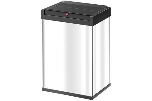 Hailo Odpadkový koš  BIG-BOX® SWING L ::BÍLÝ/ČERNÝ Odpadkové koše