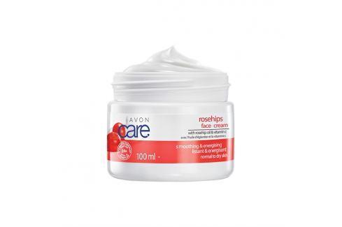 Avon Zjemňující pleťový krém se šípkovým olejem a vitaminem C 100 ml Pleťové krémy