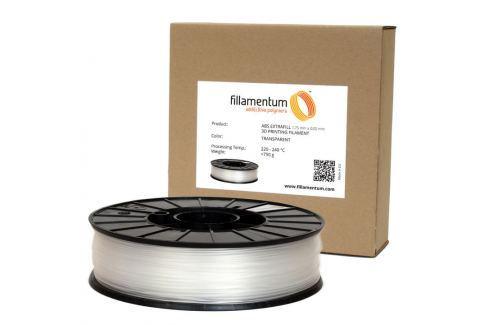 Fillamentum Tisková struna  ABS Extrafill Transparent, 1,75 mm ABS