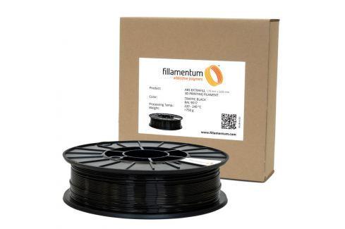 Fillamentum Tisková struna  ABS Extrafill Traffic Black, 1,75 mm ABS