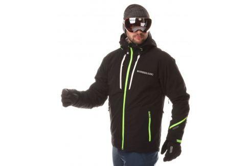 Nordblanc Pánská lyžařská bunda  Bullet - NBWJM6400 (Varianta CRN)::XL; Černá Pánské bundy a kabáty