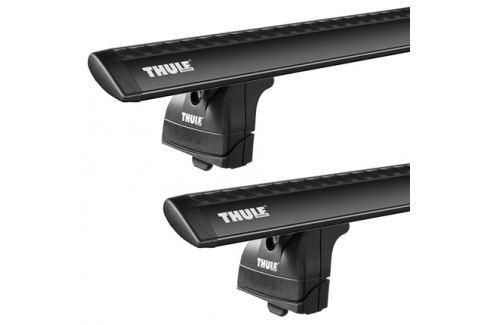 Thule Set nosiče  753+wingbar tyč 960 černá +kit, 960 - 108 cm Příčníky a podélné střešní nosiče