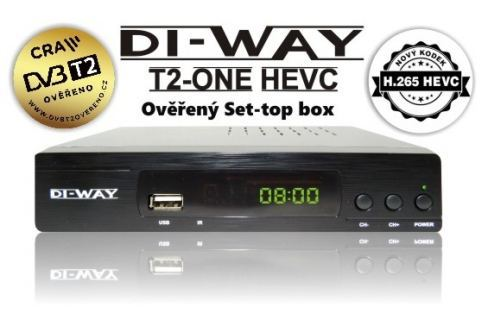 Set-top box na DVB-T2