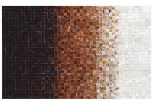 Tempo Kondela Luxusní koberec, kůže, typ patchworku, 170x240 cm, KOBEREC KOŽA typ7 Koberce metráž