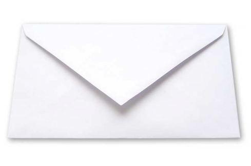 Dopisní obálka 100X165M - cena za 1 kus nikoliv za balení Obálky
