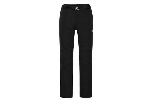 Alpine Pro Pánské softshell kalhoty  Carb 2::46; černá Pánské kalhoty