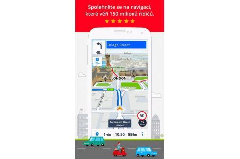 Sygic GPS Navigation voucher edition (MG00004) GPS software