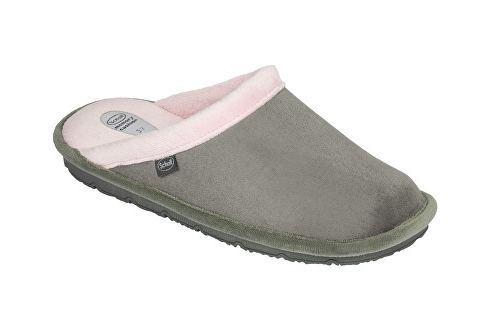 Scholl Dámské pantofle New Brienne Memory Cushion Grey/Pink F263181487::mSC0100-36 Oblečení, obuv