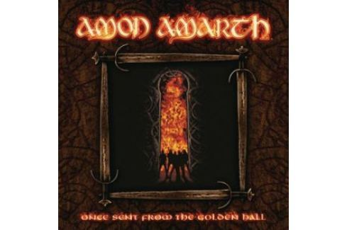 Amon Amarth : Once Sent From The Golden Ha LP Hudba