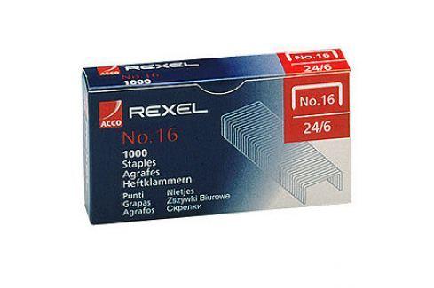 Xertec Drátky do sešívaček REXEL 24/6 (No.16), 1000 kusů Produkty