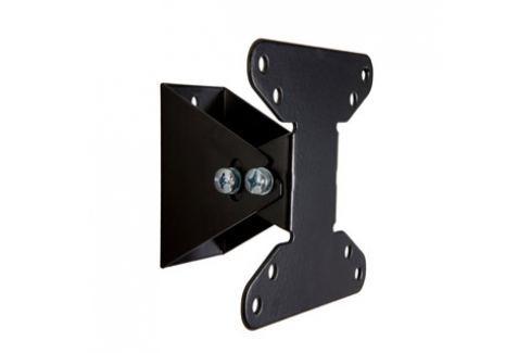 4World Sklopný držák pro LCD 10-32? nákl. 15° 20kg BLK TV stolky a držáky