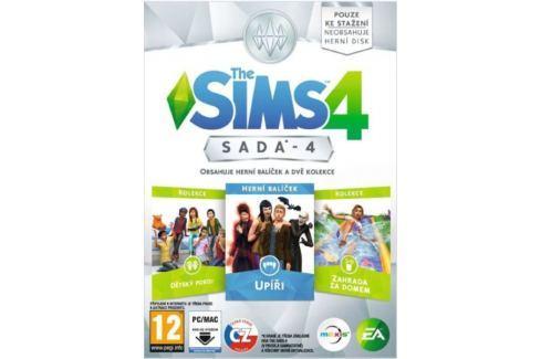 Electronic Arts THE SIMS 4 - Bundle pack 4 (Upíři, Dětský pokoj, Zahrada za domem) simulátory