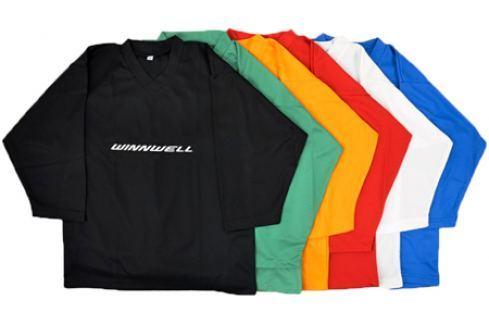 WinnWell Tréninkový hokejový dres  Yth::L/XL; červená Hokejové doplňky