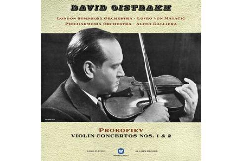 Prokofiev-oistrakh - Violin Concertos LP Hudba