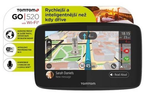 Tomtom Navigace  GO 520 World, Wi-Fi, LIFETIME mapy GPS navigace