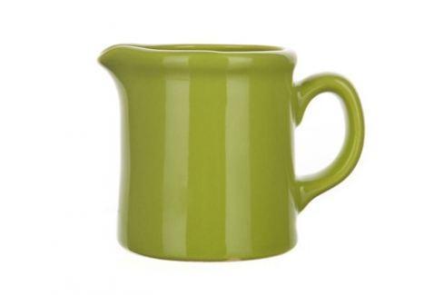 BANQUET Mléčenka keramická 260 ml, hráškově zelená dochucovací sady, mlékovky, omáčkovníky