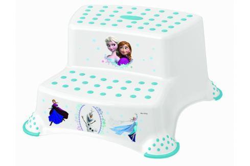 Keeeper Stolička - schůdky s protiskluzovou funkcí - Frozen - bílá Koupelnové doplňky