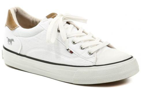 Mustang 1272-301-1 bílé dámské tenisky, 37 Dámská obuv