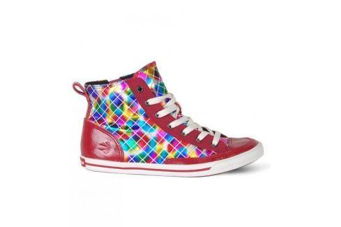Burnetie Tenisky  Hi Top Vintage Rainbow::38 Dámská obuv
