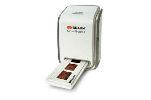 BRAUN PHOTOTECHNIK Braun NovoScan I  (5Mpx/1800dpi, sotware ArcSoft Photoimpresion, PC, USB2) Skenery