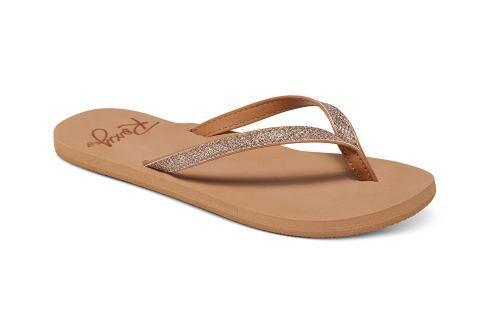 Roxy Dámské žabky Napili Tan ARJL100546-TAN::mRX1303-39 Dámská obuv