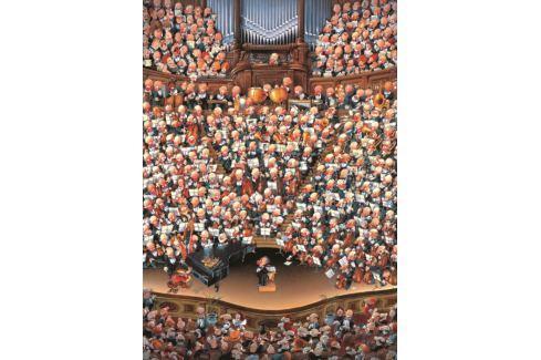 HEYE Puzzle  2000 dílků - Loup, Orchestr , Triangular Puzzle