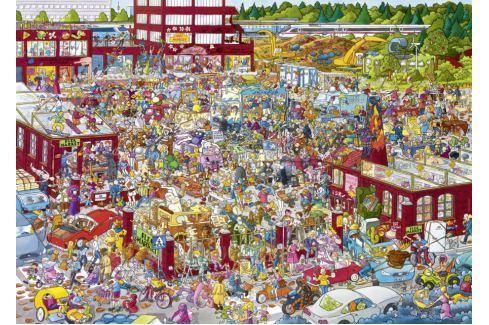 HEYE Puzzle Bleší trh 2000 dílků Puzzle