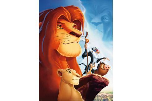 RAVENSBURGER Dětské puzzle  100 dílků - Lví král XXL Puzzle