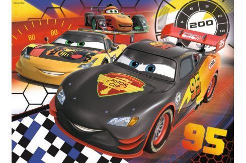 RAVENSBURGER Dětské puzzle  200 dílků - Auta: Na závodní dráze XXL Puzzle
