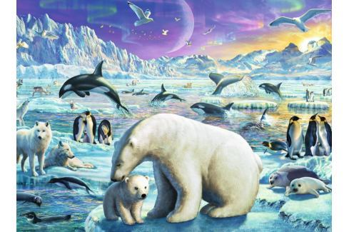 RAVENSBURGER Puzzle  300 dílků - Polární zvířata XXL Puzzle
