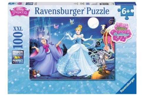 RAVENSBURGER Třpytivé puzzle Popelka XXL 100 dílků Puzzle