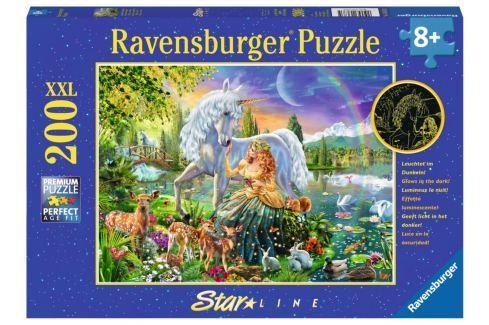 RAVENSBURGER Svítící puzzle Magická krása XXL 200 dílků Puzzle