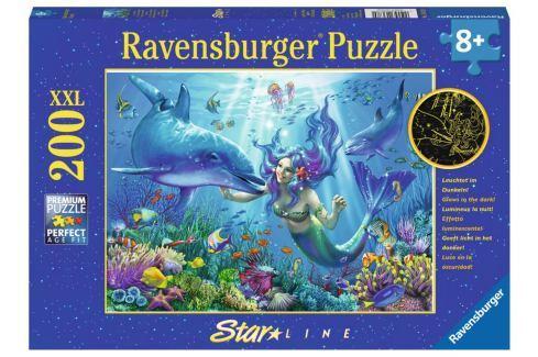 RAVENSBURGER Svítící puzzle Podvodní ráj XXL 200 dílků Puzzle