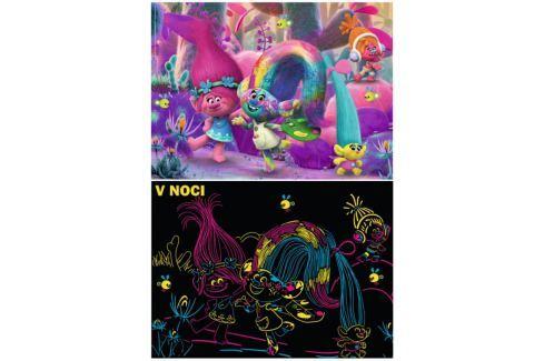 RAVENSBURGER Svítící puzzle Trollové XXL 100 dílků Puzzle