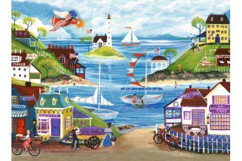 RAVENSBURGER Puzzle Krásné pobřeží 500 dílků Puzzle