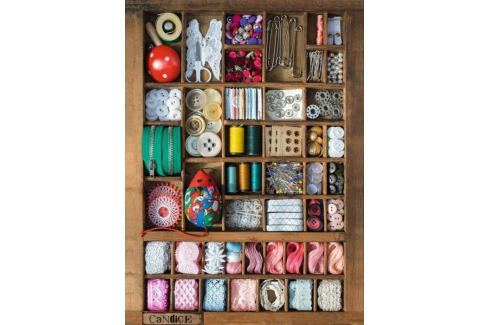 RAVENSBURGER Puzzle  500 dílků - Krabička na šití Puzzle