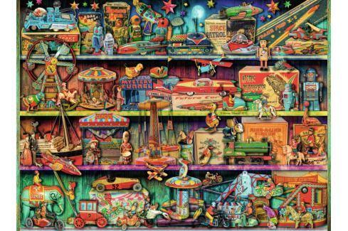 RAVENSBURGER Puzzle  500 dílků - A. Stewart: Svět hraček Puzzle