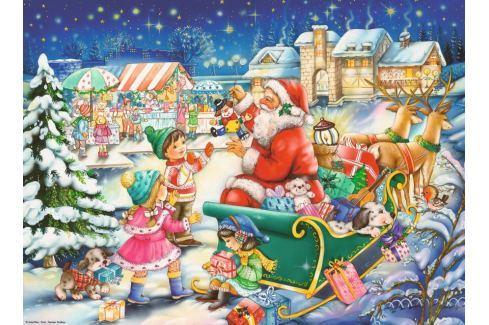 RAVENSBURGER Puzzle Vánoční kouzlo 500 dílků Puzzle