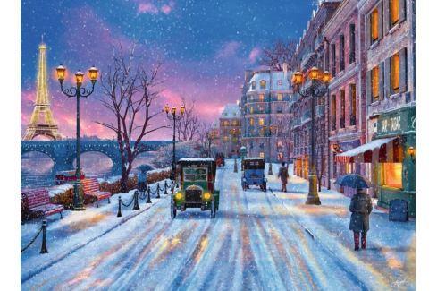 RAVENSBURGER Puzzle Zima v Paříži 500 dílků Puzzle