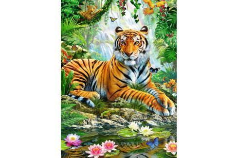 RAVENSBURGER Puzzle Tygr v džungli 500 dílků Puzzle