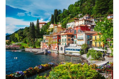 RAVENSBURGER Puzzle Jezero Como, Itálie 500 dílků Puzzle