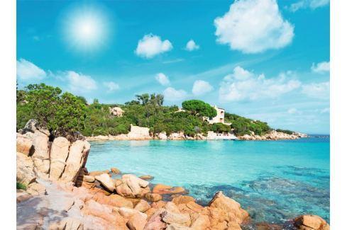 RAVENSBURGER Puzzle Pláž na Sardinii 500 dílků Puzzle