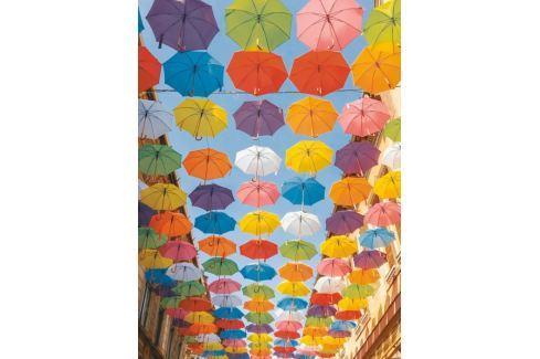 RAVENSBURGER Puzzle Barevné deštníky 500 dílků Puzzle