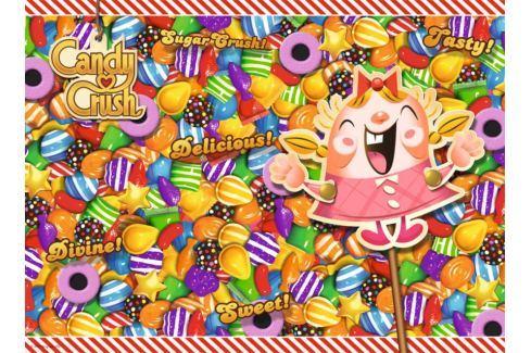 RAVENSBURGER Puzzle Candy Crush 500 dílků Puzzle