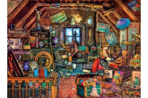RAVENSBURGER Puzzle Zaplněné podkroví 500 dílků Puzzle
