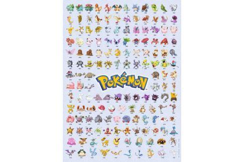 RAVENSBURGER Puzzle Pokémon: Prvních 151 druhů 500 dílků Puzzle