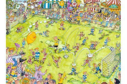 RAVENSBURGER Puzzle Na fotbalovém utkání 500 dílků Puzzle